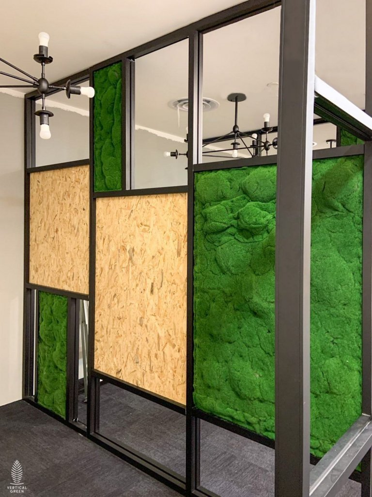 artificial moss structure